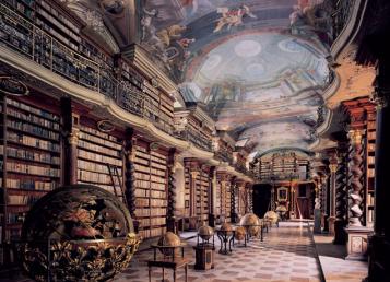Cementinum Library Hall, Prague