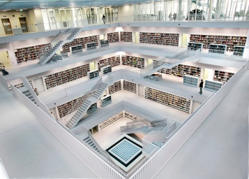 City Library,Stuttgart